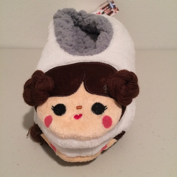 Sz-S//M M//L Star Wars Women/'s Princess Leia Slipper Socks